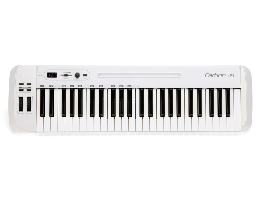 Samson Technologies Carbon 49-Key MIDI Controller Keyboard