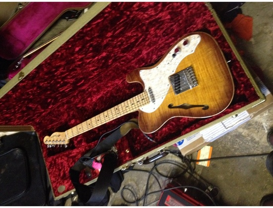 Fender American Select Thinline Telecaster