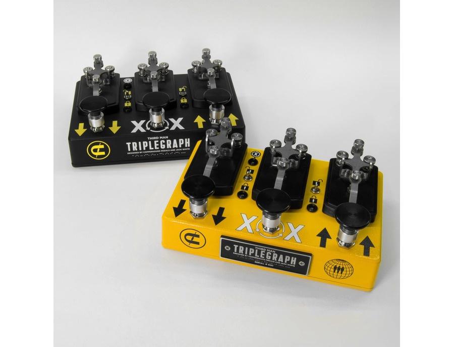 Coppersound pedals third man triplegraph digital octave pedal xl