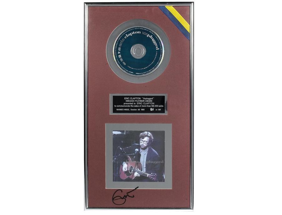 "IFPI Sweden Platinum Sales Award – ""Unplugged"""