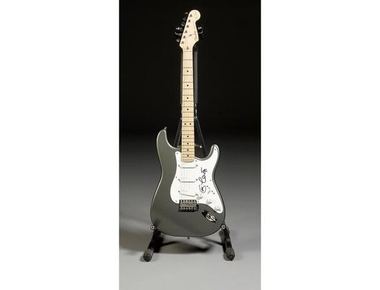 Autographed Fender Eric Clapton Stratocaster Lace Sensors Pewter