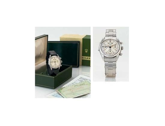 1960 Rolex Dato-Compax, Case No. 576449, Ref. 6236