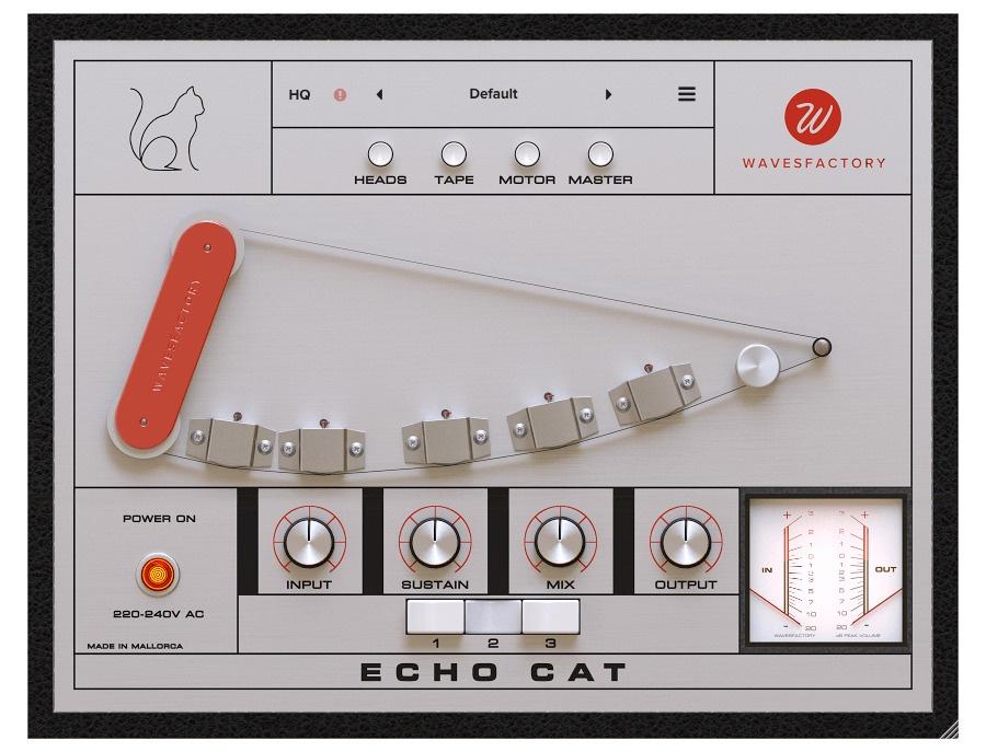 Wavesfactory echo cat xl