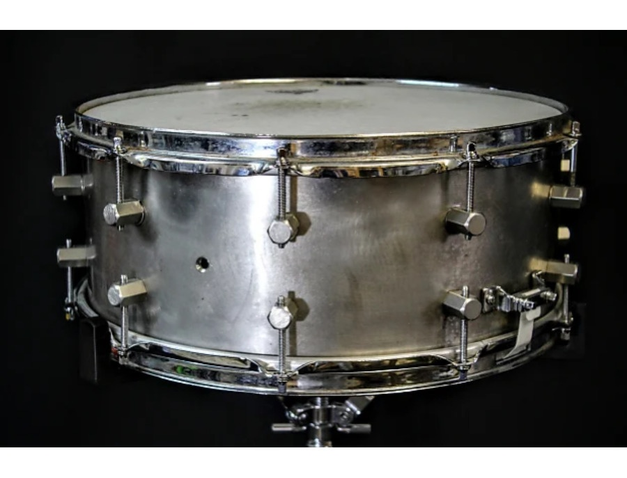 Keplinger stainless steel snare drum 6 5 x14 xl
