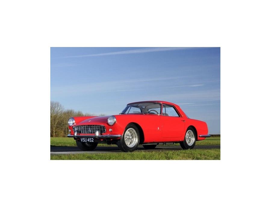 1959 Ferrari 250GT Coupé Rosso Bordeaux
