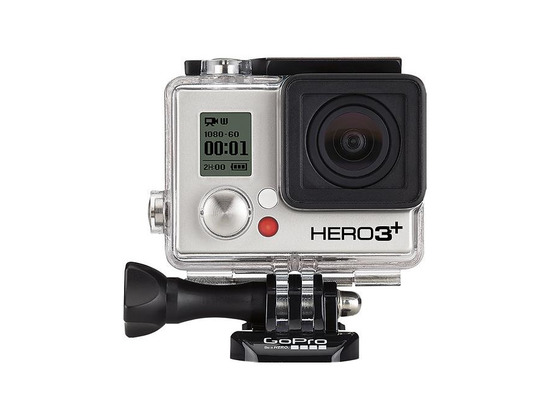 GoPro - Hero3+ Black Edition Camera