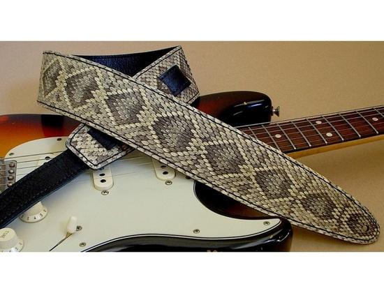 El Dorado Rattlesnake Guitar Strap