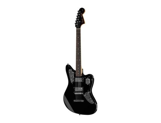 Fender Special Edition Jaguar HH, Black, Rosewood Fretboard