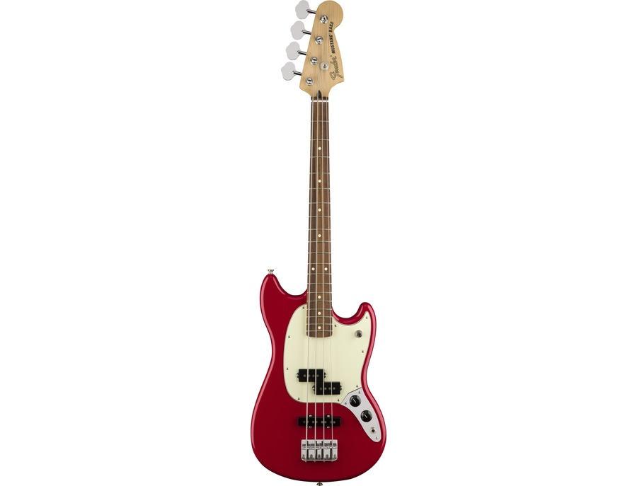 2016 fender offset mustang bass pj torino red xl