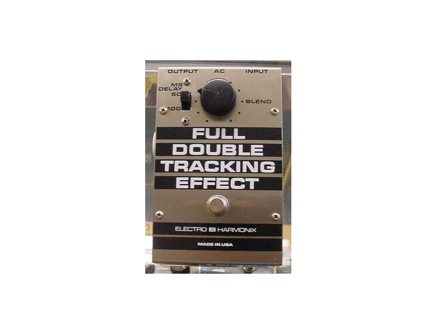 Electro harmonix full double tracking effect xl