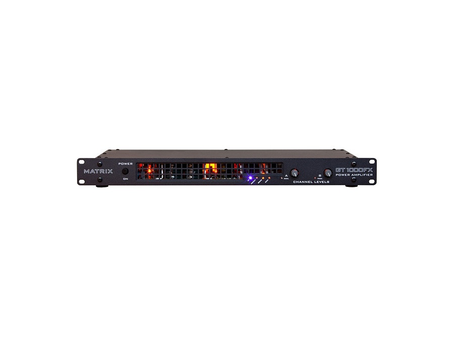 Matrix GT1000FX-1U Power Amplifier