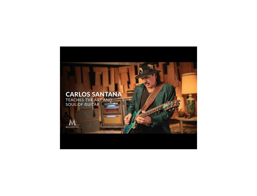 Masterclass carlos santana teaches the art and soul of guitar xl