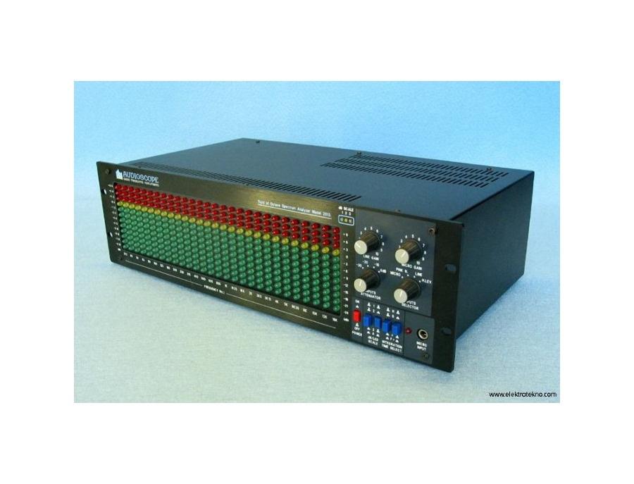 Audioscope Third of Octave Spectrum Analyzer 2813-E