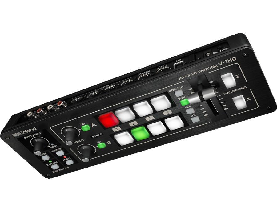 Roland v 1hd hd video switcher xl