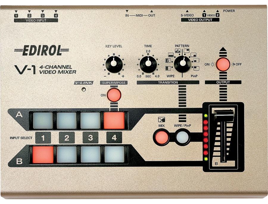 Roland edirol by roland v1 4 channel video mixer xl