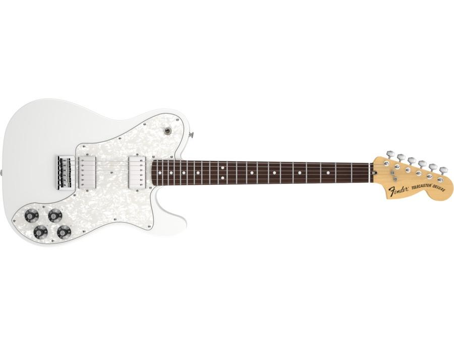 Fender chris shiflett telecaster deluxe electric guitar xl