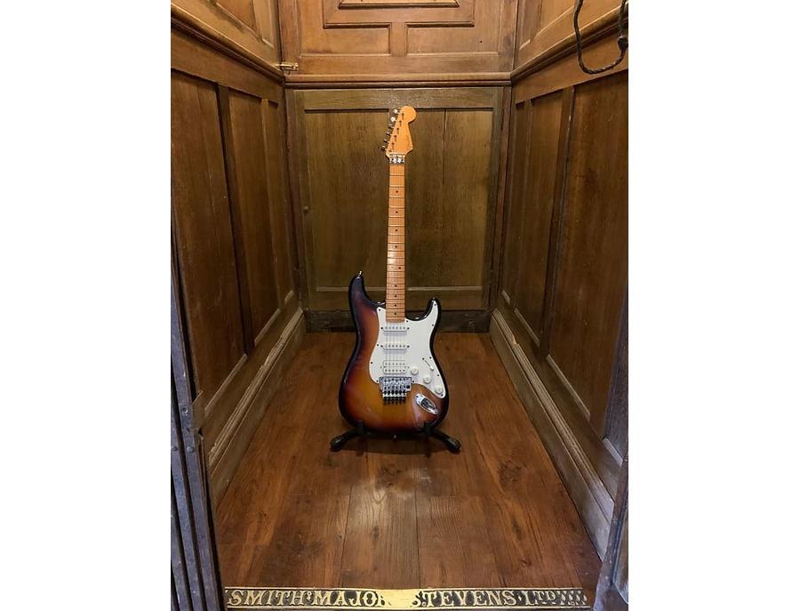Fender stratocaster mexico tobacco sunburst xl