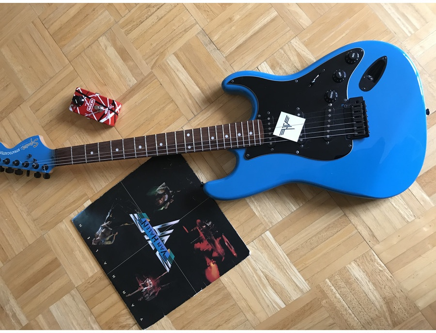 Squier 20th anniversary limited edition squier stratocaster xl