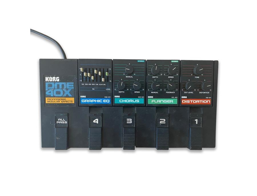 Korg pme 40x professional modular effects xl