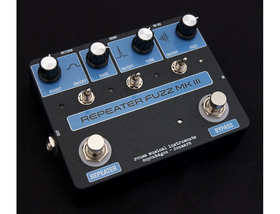 Reuss rf 03 repeater fuzz mk iii xl