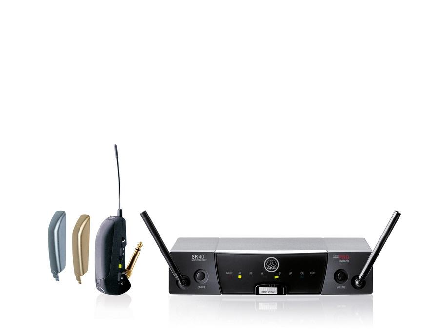 Akg wms40 pro flexx wireless guitar system xl