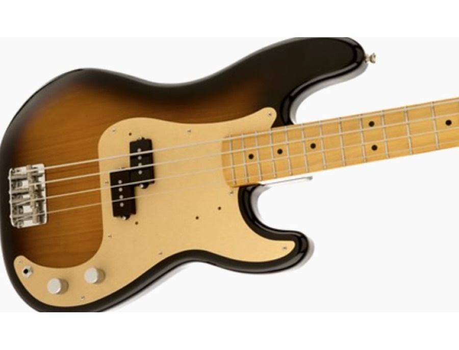 Fender vintera series 50s precision bass sunburst xl