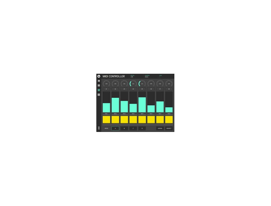 Lk for ableton live and midi xl
