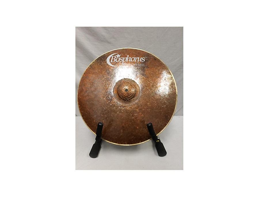 Bosphorus cymbals 18 turk series thin crash cymbal xl