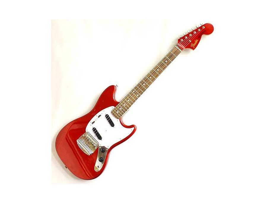 Fender japan 69 reissue mustang candy apple red xl