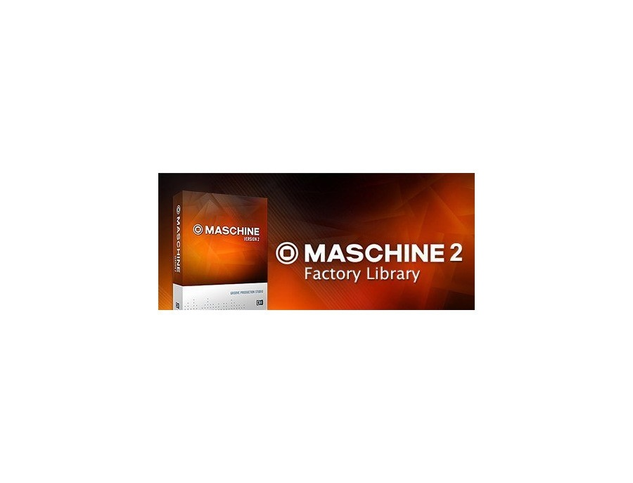 Native instruments maschine 2 factory library xl