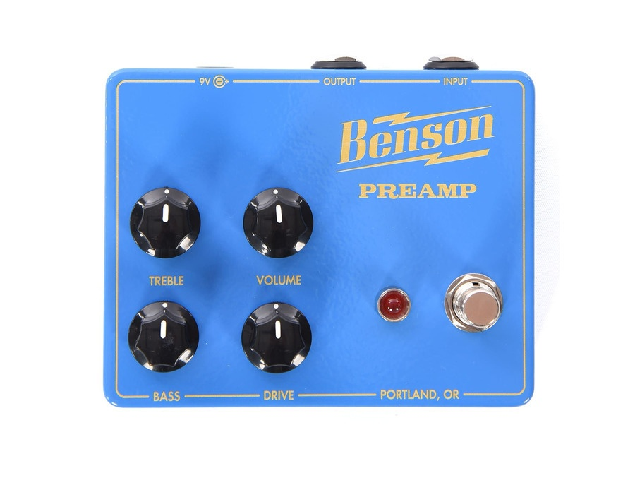 Benson amps preamp cme limited edition blue xl