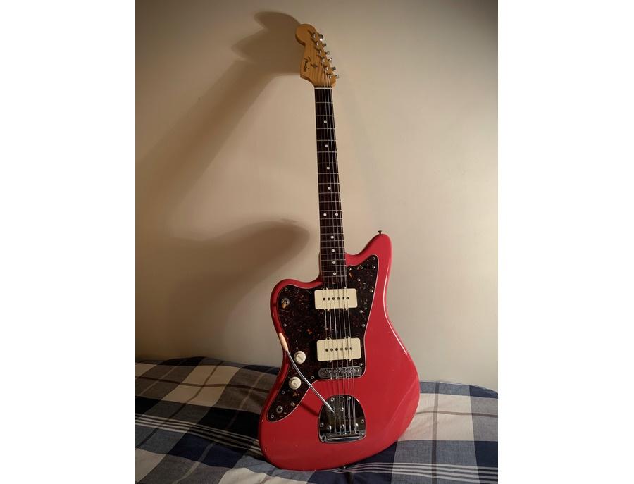 Fender jazzmaster cij left handed fiesta red xl