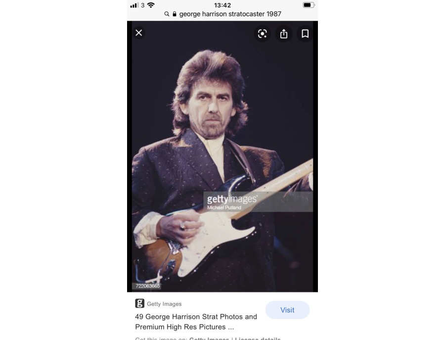 Fender stratocaster 1987 princes trust xl