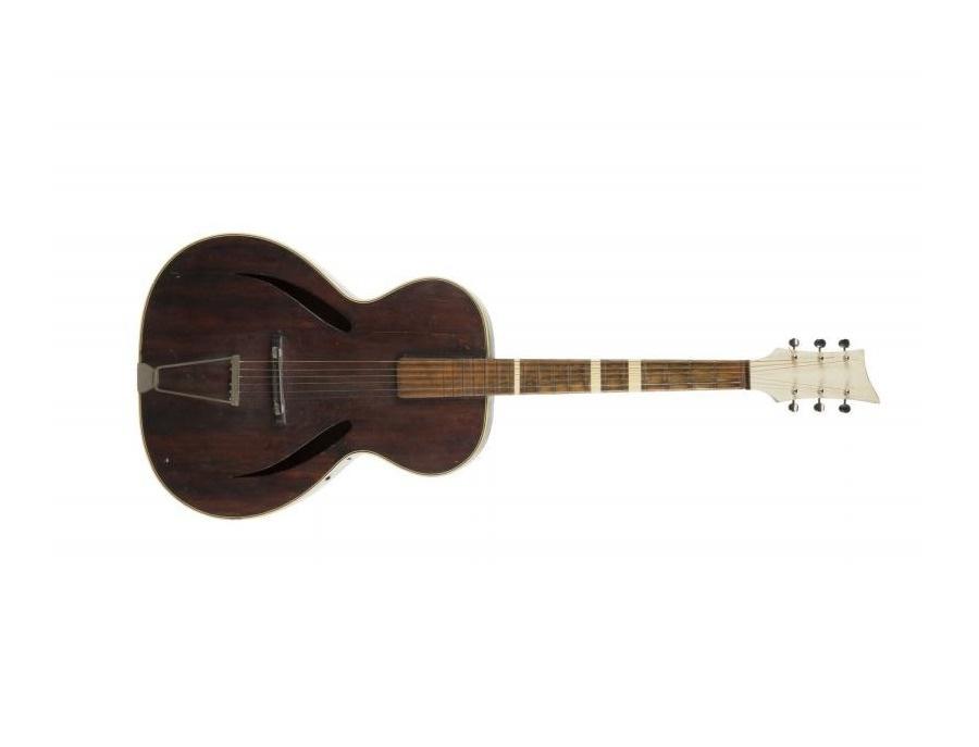 Unknown ronnie james dio antique acoustic guitar xl