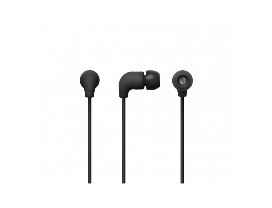 AIAIAI Pipe Earphone w/mic Black