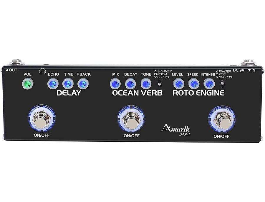 Amuzik multi effects pedal dap 3 xl