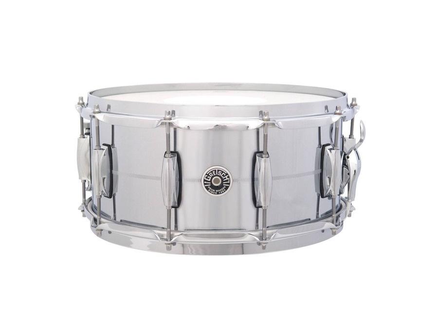 Gretsch drums usa brooklyn 14 x 6 5 chrome over brass snare xl