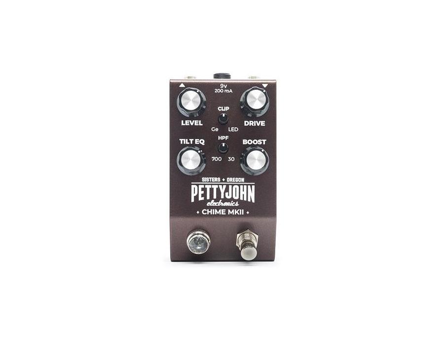 Pettyjohn electronics chime mkii overdrive guitar pedal xl