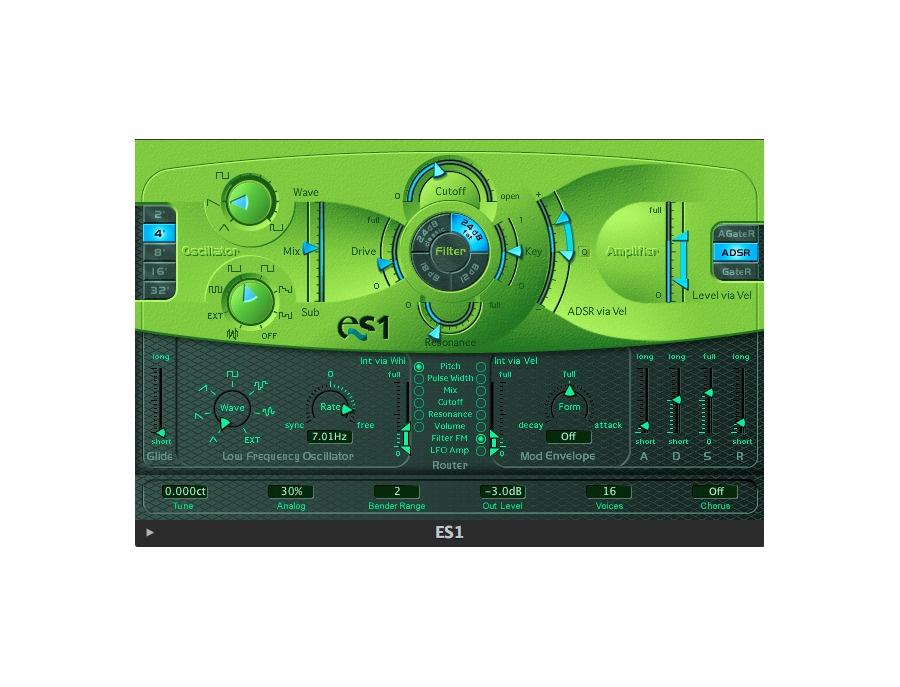 Apple Logic ES1 Software Synthesizer