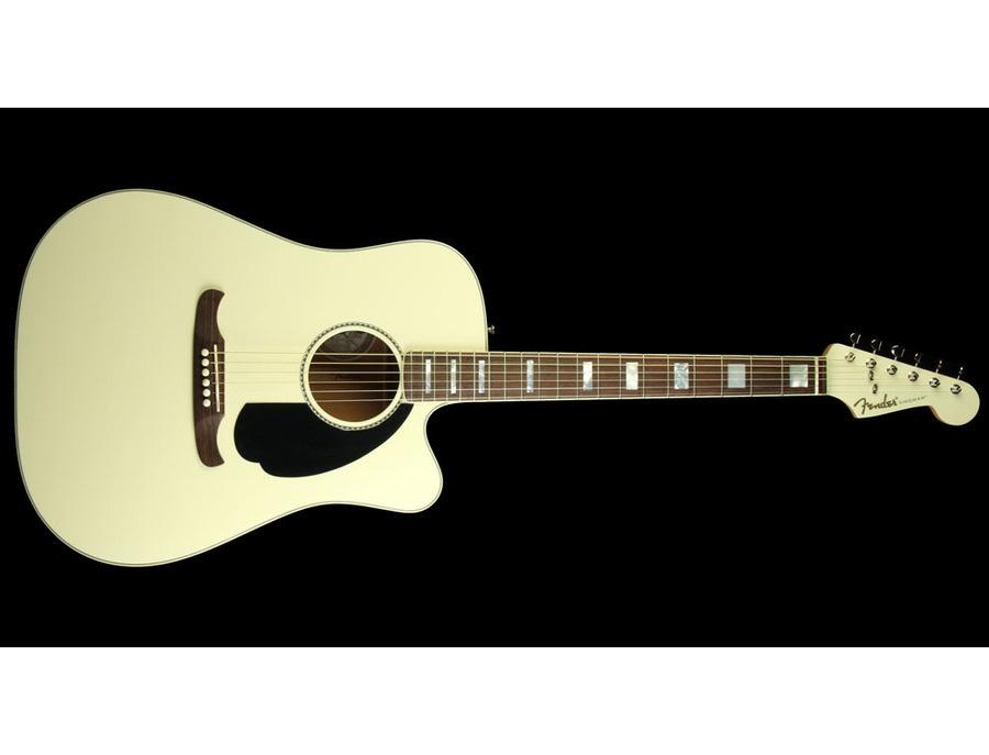 Fender Acoutic Custom Shop Kingman C Antigua White