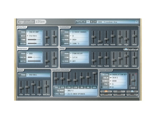 Cakewalk Z3TA+ 1.5 Software Synth