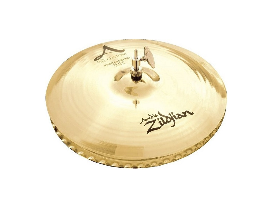 """Zildjian 15"""" A Custom Mastersound Hihats"""