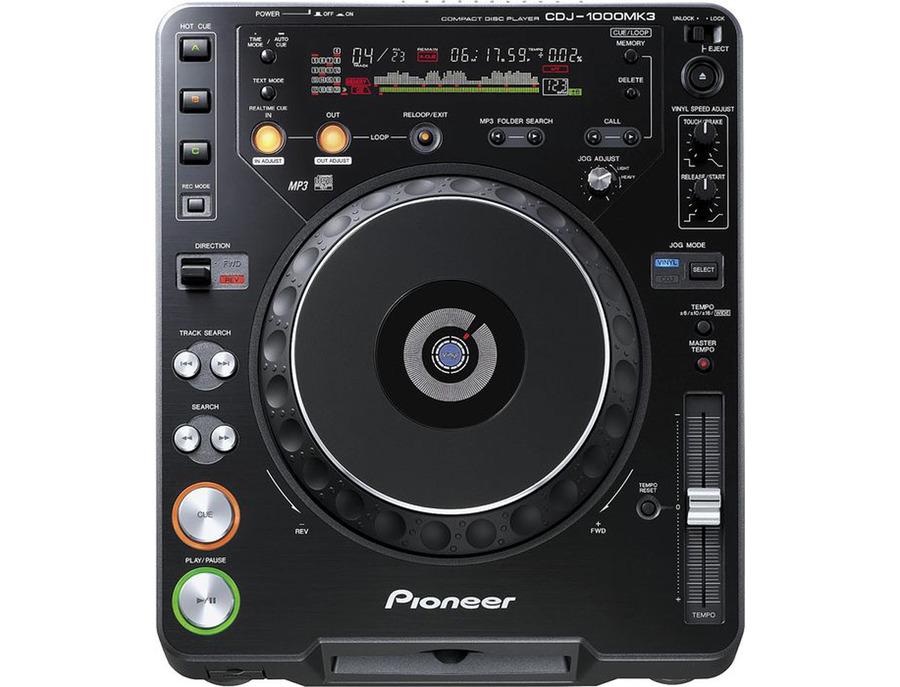 Pioneer cdj 1000mk3 xl