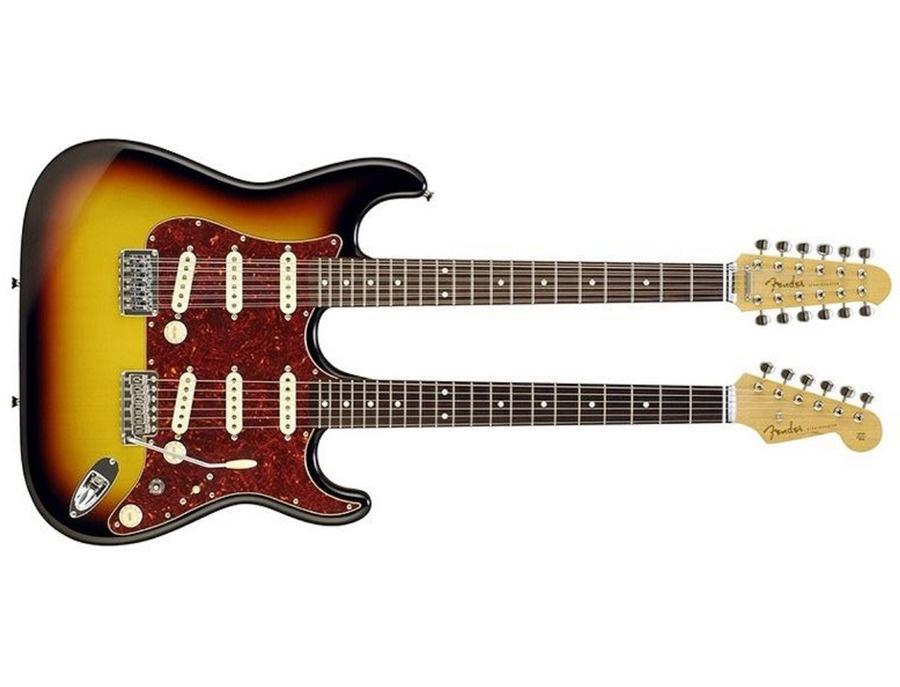 Fender double neck stratocaster xl