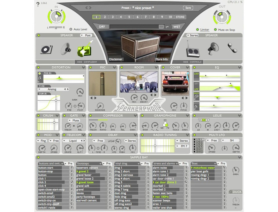 AudioEase Speakerphone 2 Plugin