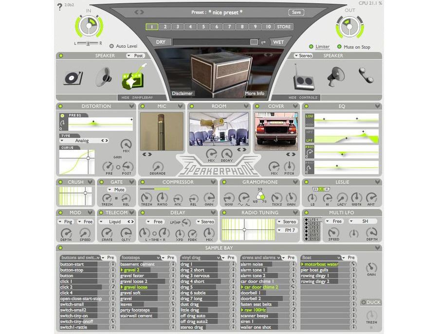 AudioEase Speakerphone 2 Plugin