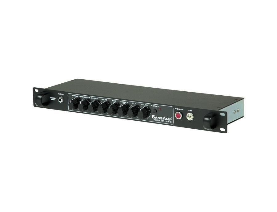 Tech 21 Sansamp RBI Rackmount Bass Tube Amp Emulator