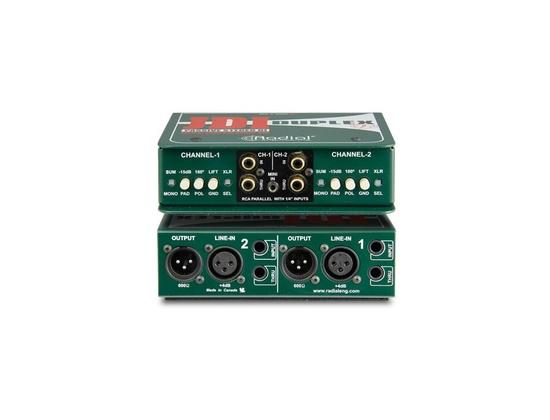 Radial JDI Duplex Stereo DI