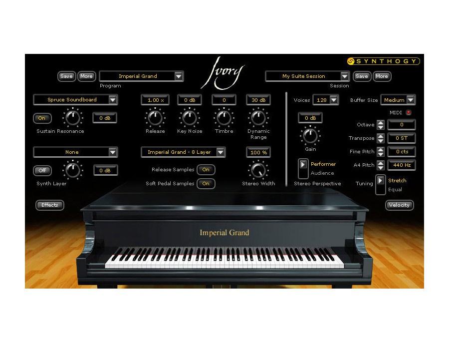Synthogy Ivory Virtual Instrument