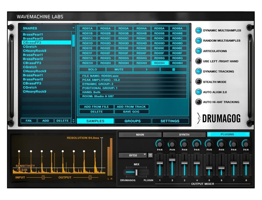 WaveMachine Labs Drumagog